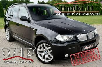 BMW X3 3.0SD Bi-Turbo, Navigacja, Skóry.4x4, M-Pakiet, GWARANCJA