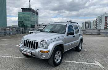 Jeep Cherokee 3.7 benz 4x4 Full Time Skóra Klima EUROPA