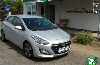 Hyundai i30 Bardzo ładny Zarejestrowany i ubezpieczony Klima, tempomat, el. szyby
