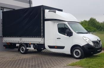 Renault Master WINDA 2xŁÓŻKO PLANDEKA PAKA SKRZYNIA ŁADUNKOWA KLIMA 8EP