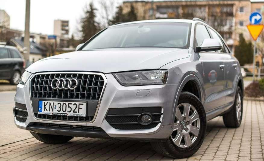 Audi Q3 2.0_Diesel_140KM_127 tys. km_Kamera_NAVI_PDC_HAK_Zarejestrowany zdjęcie 1