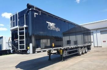Inna TMT Ruchoma podłoga 90m3 OTWIERANY BOK Podłoga 10 mm 8380 kg