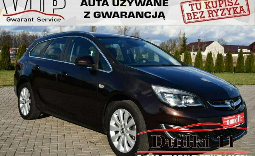 Opel Astra 1.4Turbo+Gaz Serwis, Xenon, Pół-skóry.Navigacja, Ledy, GWARANCJA zdjęcie 1