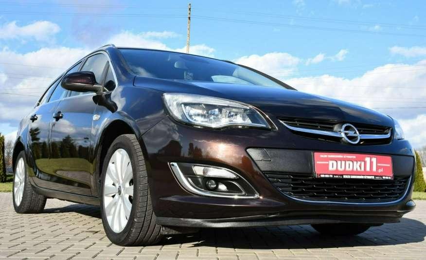 Opel Astra 1.4Turbo+Gaz Serwis, Xenon, Pół-skóry.Navigacja, Ledy, GWARANCJA zdjęcie 2