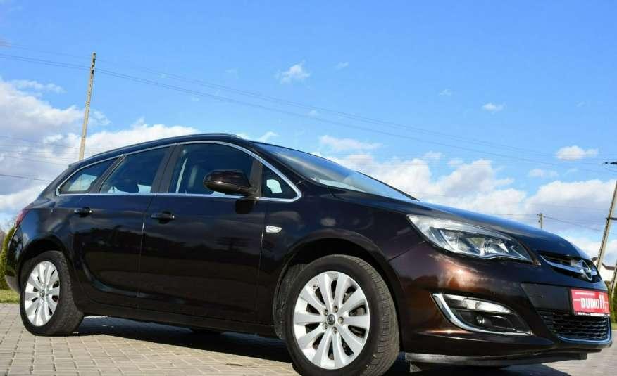 Opel Astra 1.4Turbo+Gaz Serwis, Xenon, Pół-skóry.Navigacja, Ledy, GWARANCJA zdjęcie 4