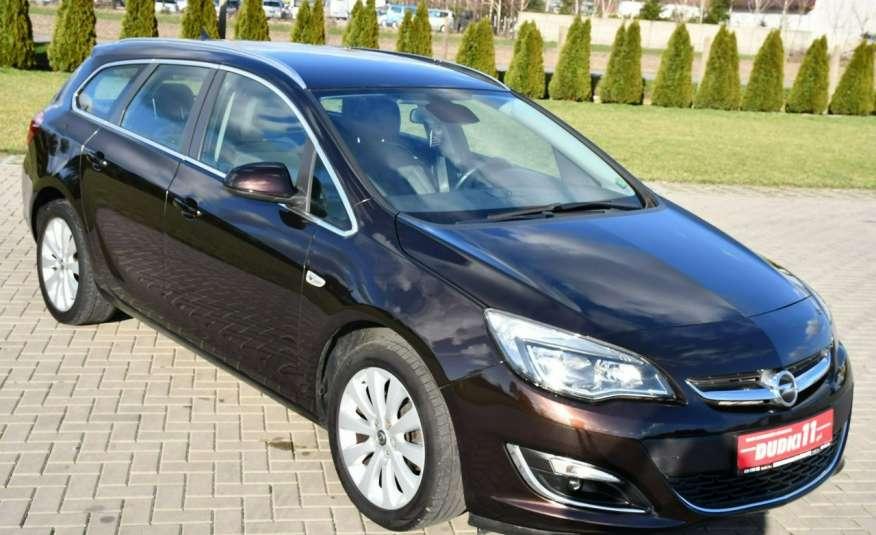 Opel Astra 1.4Turbo+Gaz Serwis, Xenon, Pół-skóry.Navigacja, Ledy, GWARANCJA zdjęcie 5