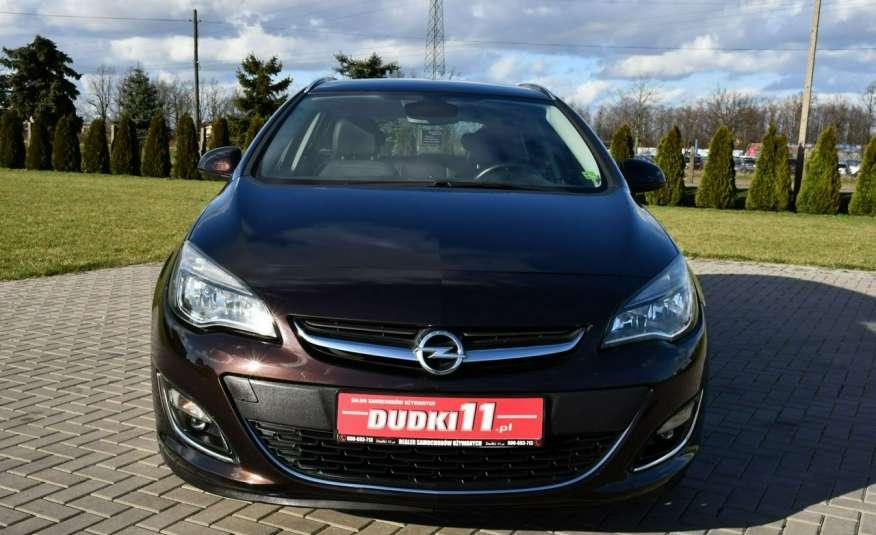 Opel Astra 1.4Turbo+Gaz Serwis, Xenon, Pół-skóry.Navigacja, Ledy, GWARANCJA zdjęcie 6