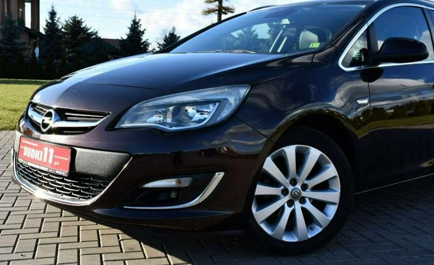 Opel Astra 1.4Turbo+Gaz Serwis, Xenon, Pół-skóry.Navigacja, Ledy, GWARANCJA zdjęcie 7