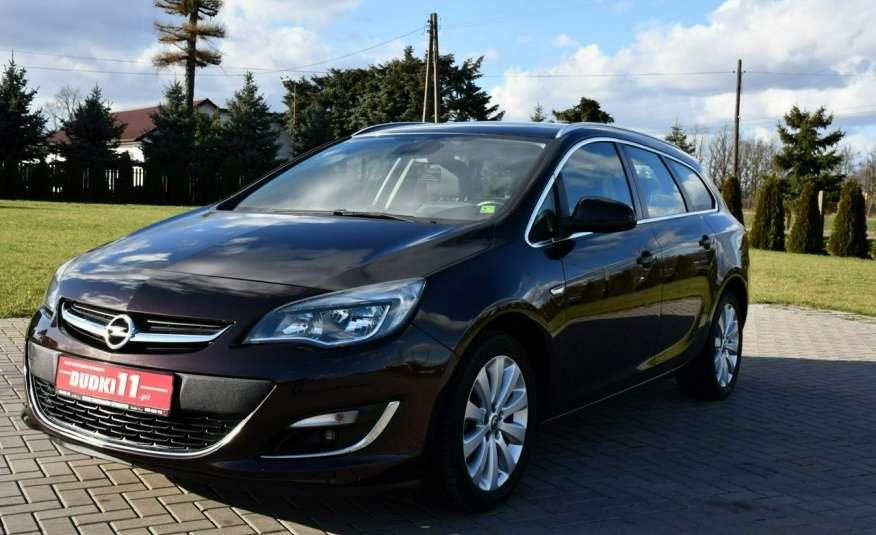 Opel Astra 1.4Turbo+Gaz Serwis, Xenon, Pół-skóry.Navigacja, Ledy, GWARANCJA zdjęcie 8