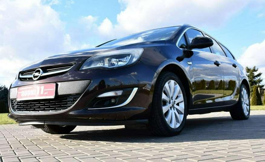 Opel Astra 1.4Turbo+Gaz Serwis, Xenon, Pół-skóry.Navigacja, Ledy, GWARANCJA zdjęcie 9