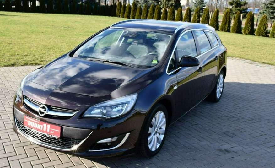 Opel Astra 1.4Turbo+Gaz Serwis, Xenon, Pół-skóry.Navigacja, Ledy, GWARANCJA zdjęcie 10
