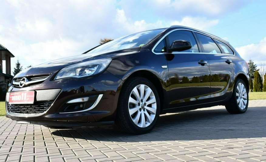Opel Astra 1.4Turbo+Gaz Serwis, Xenon, Pół-skóry.Navigacja, Ledy, GWARANCJA zdjęcie 11