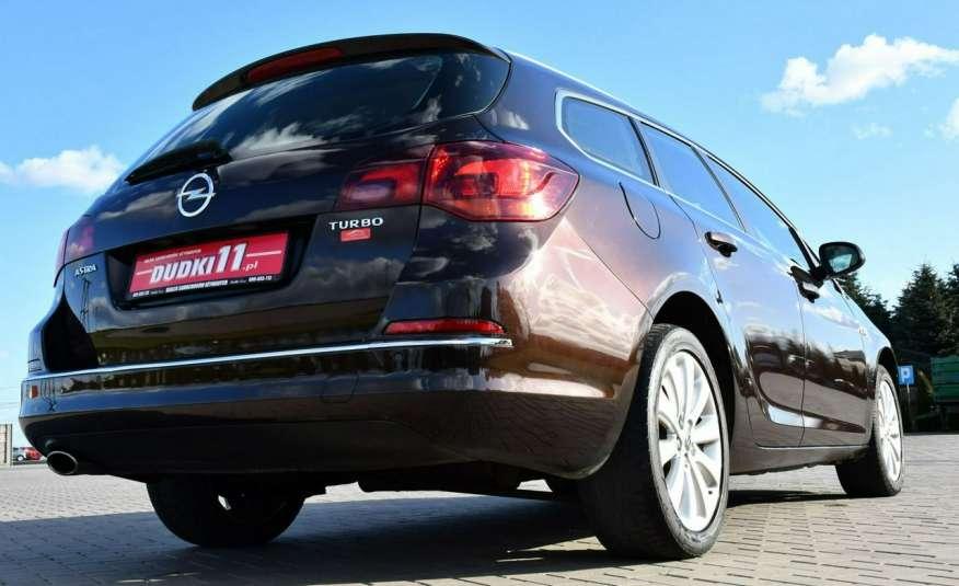 Opel Astra 1.4Turbo+Gaz Serwis, Xenon, Pół-skóry.Navigacja, Ledy, GWARANCJA zdjęcie 12