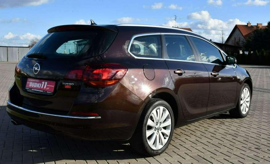 Opel Astra 1.4Turbo+Gaz Serwis, Xenon, Pół-skóry.Navigacja, Ledy, GWARANCJA zdjęcie 13