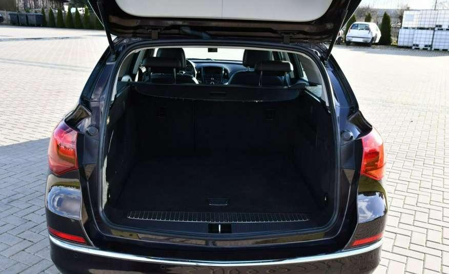 Opel Astra 1.4Turbo+Gaz Serwis, Xenon, Pół-skóry.Navigacja, Ledy, GWARANCJA zdjęcie 15