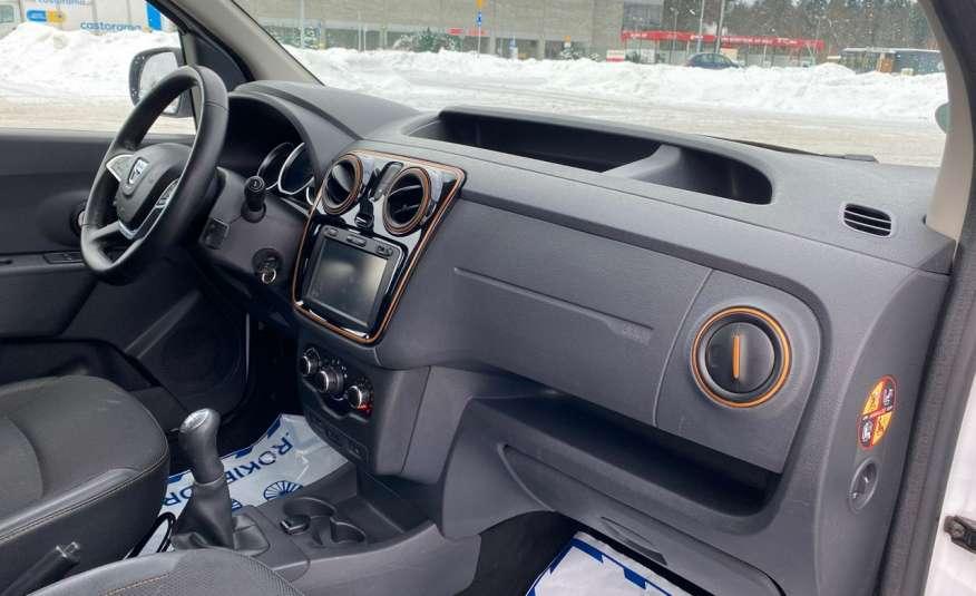 Dacia Dokker 1.5 dCi STEPWAY, navi, bezwypadkowy zamiana zdjęcie 24