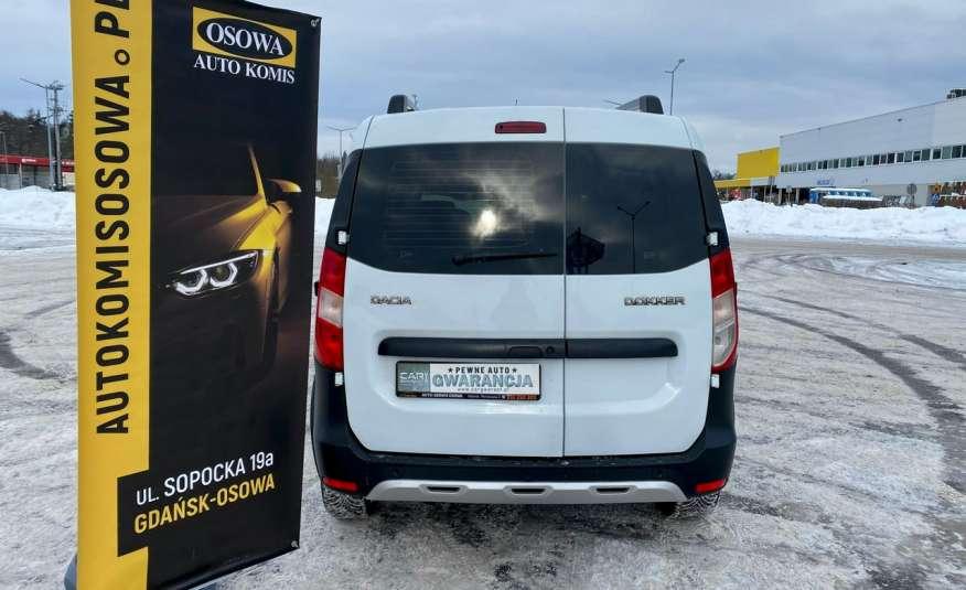 Dacia Dokker 1.5 dCi STEPWAY, navi, bezwypadkowy zamiana zdjęcie 30