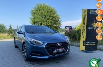 Hyundai i40 lift 1.7crdi navi Ledy kamera 1 wł bezwypadkowy 1 rok gwarancji zamian