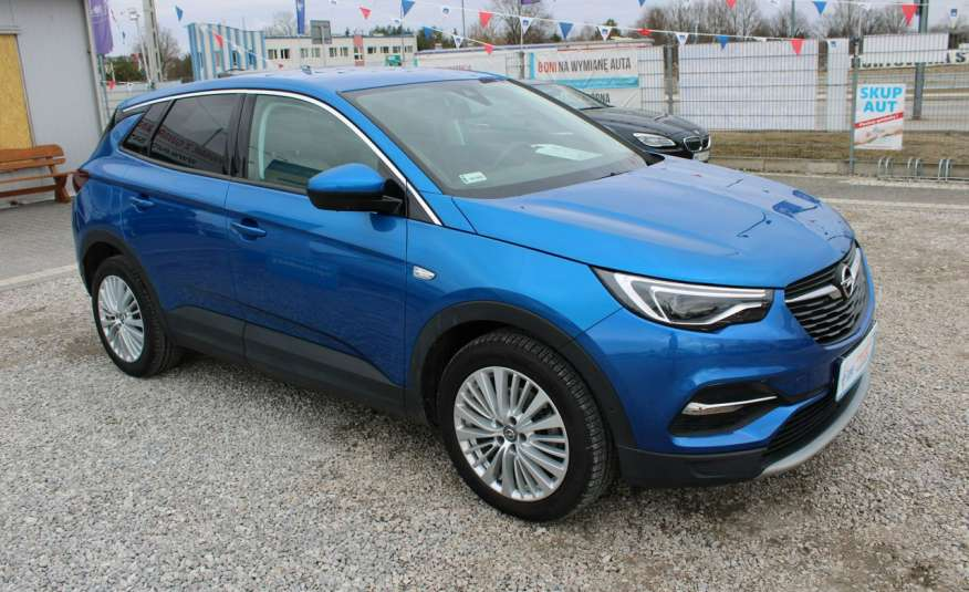 Opel Grandland X Lakier Perłowy, Automat, Grzane Fotele, Tempomat, NAVI, Gwarancja, F-Vat zdjęcie 1