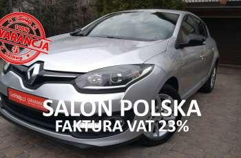 Renault Megane I rej.2015 Salon PL Limited tylko 99 tys km 1.6V 110KM KLIMATRONIK