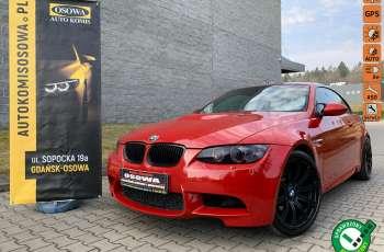 BMW M3 kabriolet 4.0v8SMG 421KM M-pakiet full serwis pełna dokumentacja 1r.gw