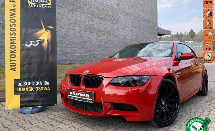BMW M3 kabriolet 4.0v8SMG 421KM M-pakiet full serwis pełna dokumentacja 1r.gw zdjęcie 1