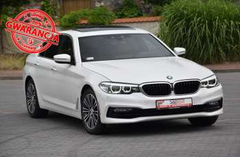 BMW 540 540i Xdrive 326KM X.2017r. NAVi LED Kamera el. klapa Headup H&K