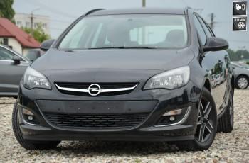 Opel Astra Czarna Opłacona 1.4T 140KM 2xPDC Alu gwarancja