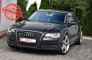 Audi A8 A8L 4.2TDi 350KM 2010r. Long B&O Kamera NightView