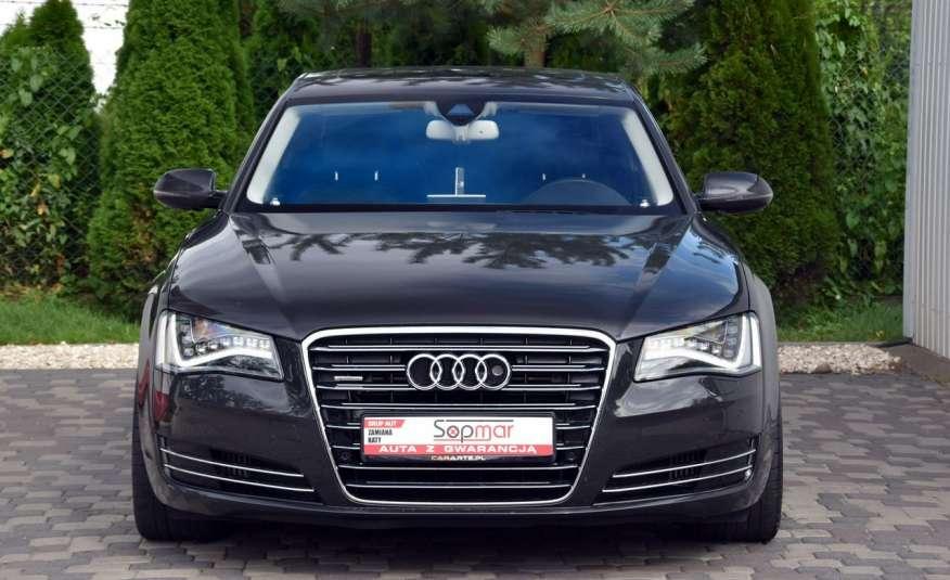 Audi A8 A8L 4.2TDi 350KM 2010r. Long B&O Kamera NightView zdjęcie 7