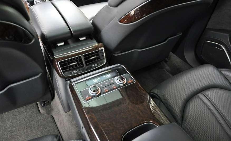 Audi A8 A8L 4.2TDi 350KM 2010r. Long B&O Kamera NightView zdjęcie 12