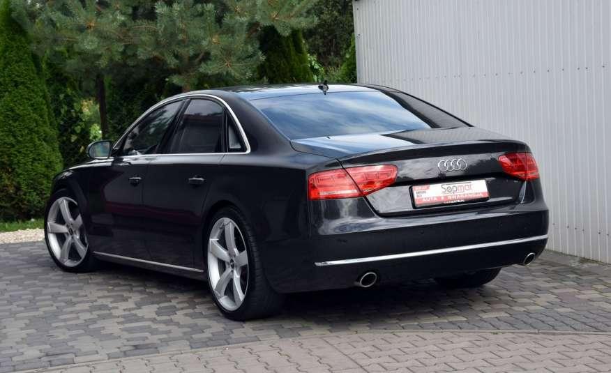 Audi A8 A8L 4.2TDi 350KM 2010r. Long B&O Kamera NightView zdjęcie 15