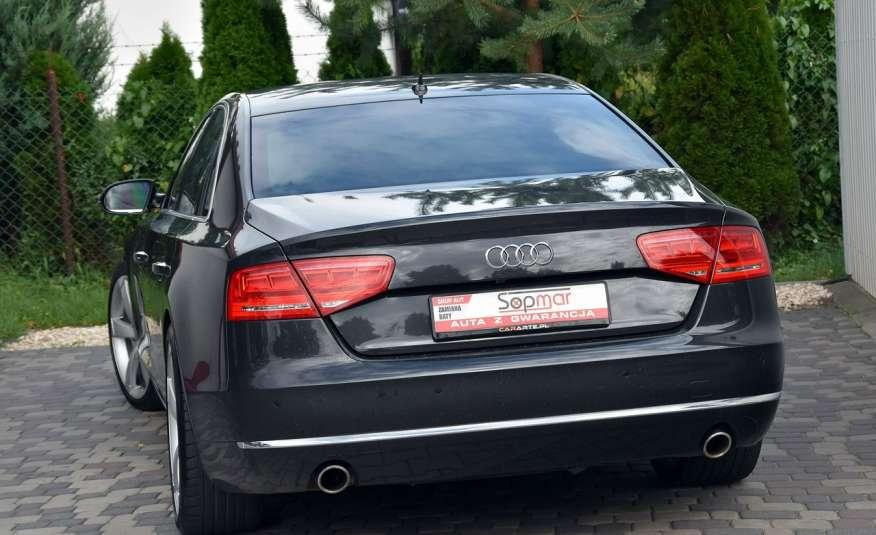 Audi A8 A8L 4.2TDi 350KM 2010r. Long B&O Kamera NightView zdjęcie 16