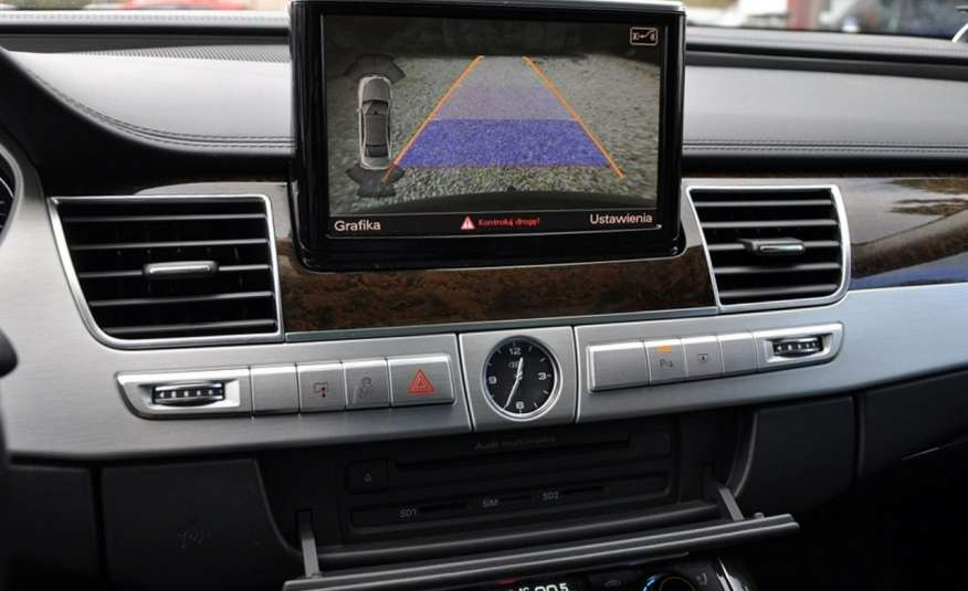 Audi A8 A8L 4.2TDi 350KM 2010r. Long B&O Kamera NightView zdjęcie 20