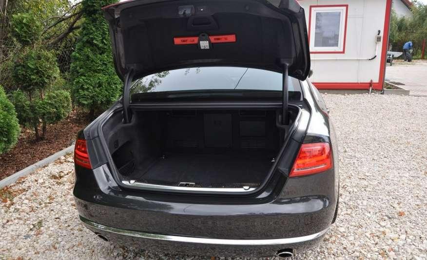 Audi A8 A8L 4.2TDi 350KM 2010r. Long B&O Kamera NightView zdjęcie 24