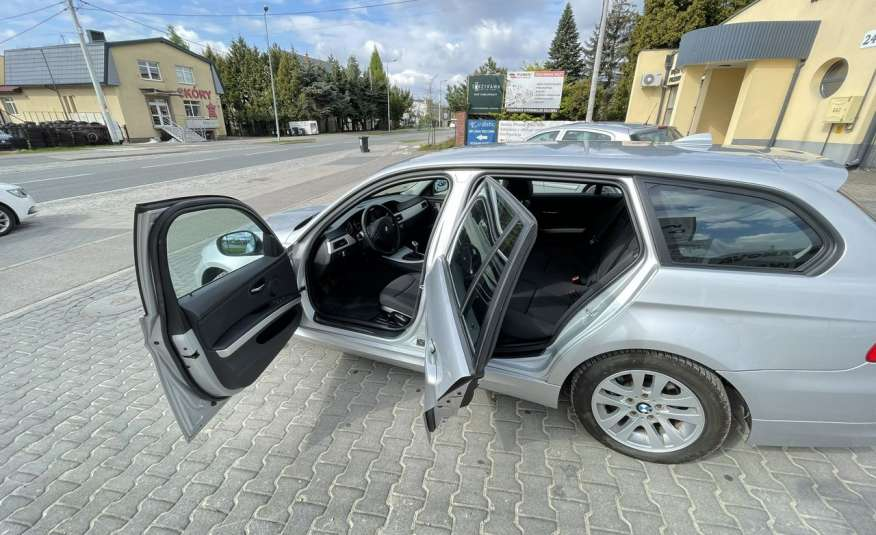 BMW 320 Lifting 320d 177KM touring NAVI GPS Alu Webasto fabryczne Z Niemiec zdjęcie 7