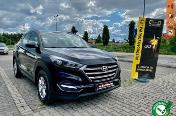 Hyundai Tucson 1.6i moc132KM ledy grzana kierownica fotele kanapa 1 rok gwarancji