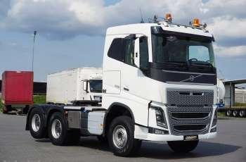 Volvo / FH 16 / 650 / EURO 6 / ACC / 6 X 4 / 3 OSIE / DMC 70 000 KG / HYDRAULIKA