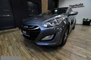 Hyundai i30 1.6 CRDi led gwarancja bezwypadkowy po opłatach piękny film