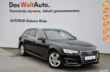 Audi A4 2.0 TDI 150KM S-line S-Tronic NAVI LED Serwis ASO FV 23%
