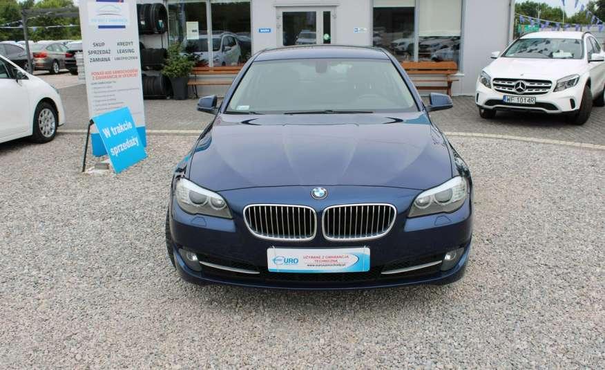 BMW 520 Salon Polska 2.0 D Skóra Navi zdjęcie 3