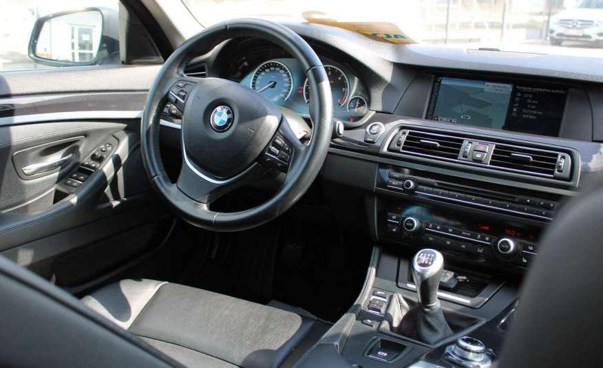 BMW 520 Salon Polska 2.0 D Skóra Navi zdjęcie 8