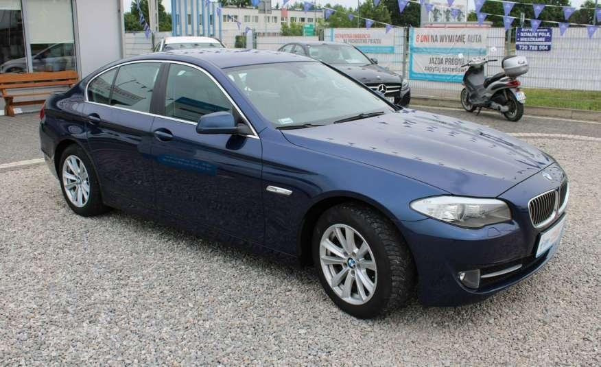 BMW 520 Salon Polska 2.0 D Skóra Navi zdjęcie 15