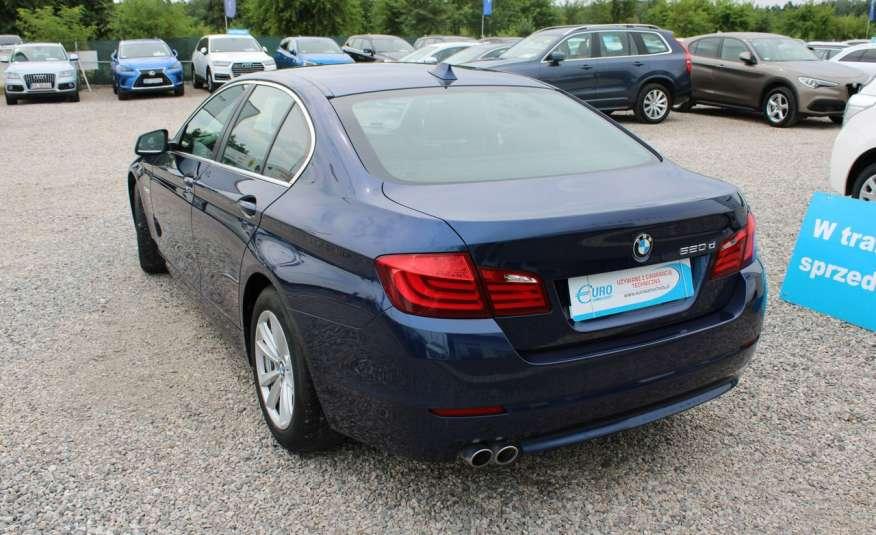 BMW 520 Salon Polska 2.0 D Skóra Navi zdjęcie 16