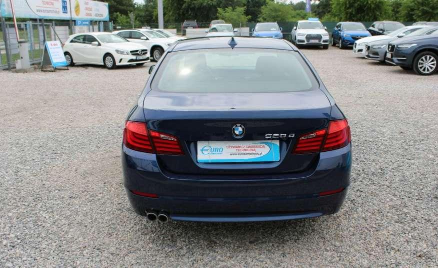 BMW 520 Salon Polska 2.0 D Skóra Navi zdjęcie 18