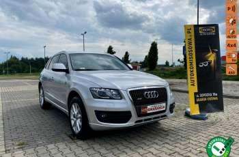 Audi Q5 2.0Turbo quattro moc211KM ledy xenon skora Automat 1 rok gwarancji