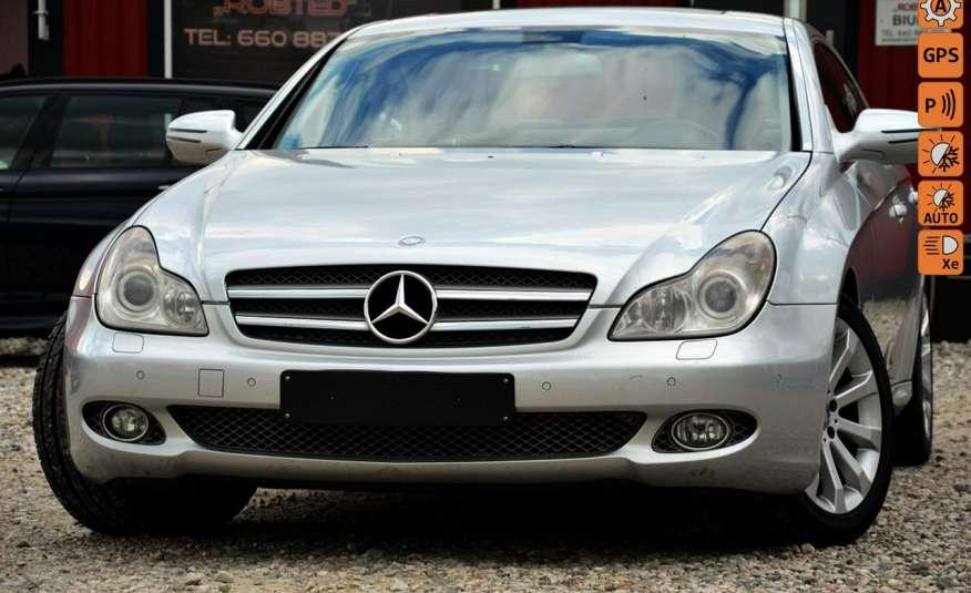 Mercedes CLS 320 Opłacony 320CDI Lift Wentyle Skóra Navi Bi-xenon Alu Gwarancja zdjęcie 1