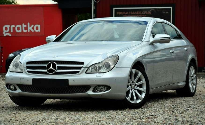 Mercedes CLS 320 Opłacony 320CDI Lift Wentyle Skóra Navi Bi-xenon Alu Gwarancja zdjęcie 5