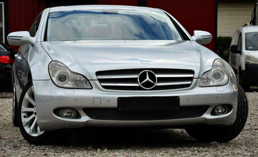 Mercedes CLS 320 Opłacony 320CDI Lift Wentyle Skóra Navi Bi-xenon Alu Gwarancja zdjęcie 11