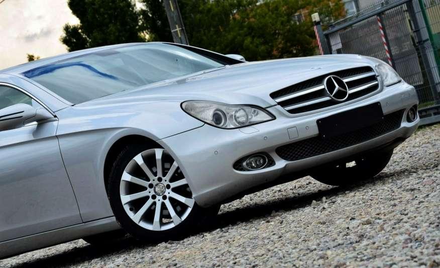 Mercedes CLS 320 Opłacony 320CDI Lift Wentyle Skóra Navi Bi-xenon Alu Gwarancja zdjęcie 14